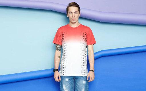 Jokester男士T恤:舒适透气棉质面料,渐变炫彩超级帅