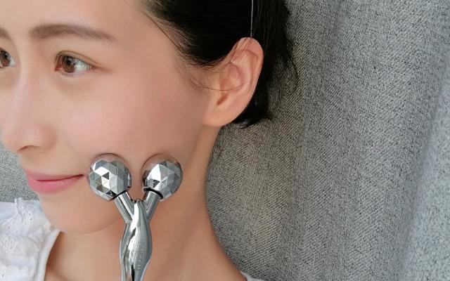超便携面部按摩仪,时尚达人都在用的瘦脸神器 | 视频