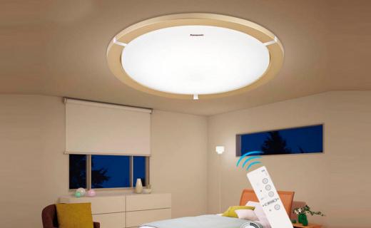 松下HHLAZ1692灯:亚克力灯罩光线柔和自然,19W功率节能省电