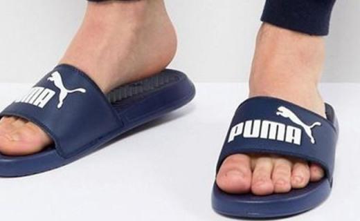 彪马休闲运动拖鞋:舒适材质柔软贴合,时尚款式潮人必备