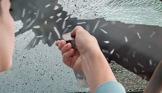 瑞士科技5合1钥匙扣:强悍威力小巧便携,可破车窗能割绳