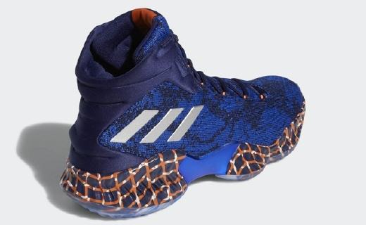 尼克斯配色,阿迪达斯推波尔津吉斯专属战靴