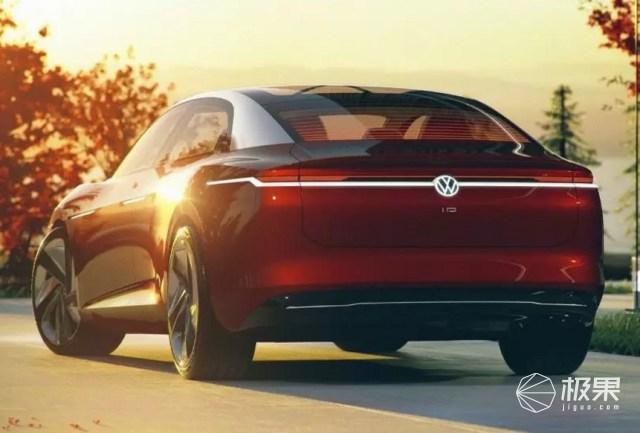 大众发布I.D.VIZZION概念电动车,没有方向盘,全自动驾驶!