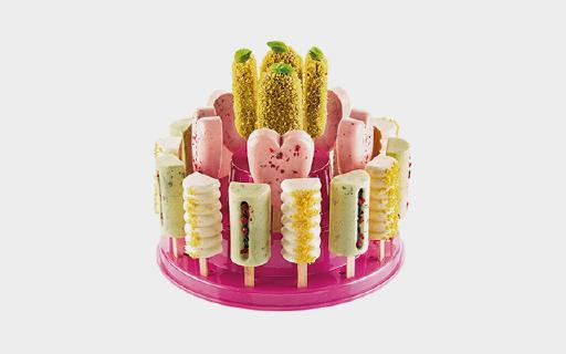 JAKO-O蛋糕站:28个甜点位置材质无毒无害,定时定量品尝甜品