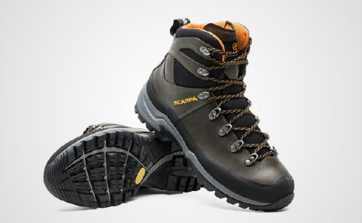 防水减震头层牛皮,地平线GTX登山徒步鞋