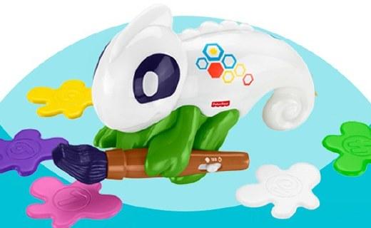 费雪早教玩具:智能变色语音系统,锻炼孩子学习能力