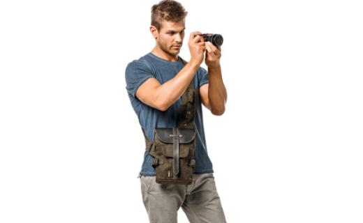 国家地理NG A4567相机包:皮革材质结实耐磨,复古款简约百搭