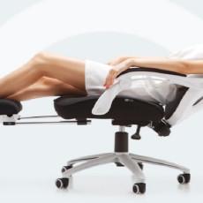 能提高办公效率的椅子,加班员工的共同选择,黑白调HDNY077体验