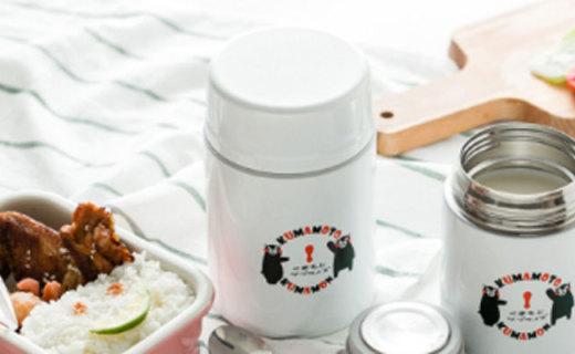 熊本熊餐具套装:陶瓷PP与不锈钢材质结合,安全健康的呆萌餐具