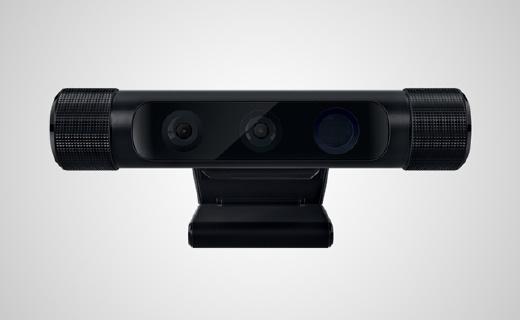 雷蛇3D摄像头,自动去背景还能读取动作手势