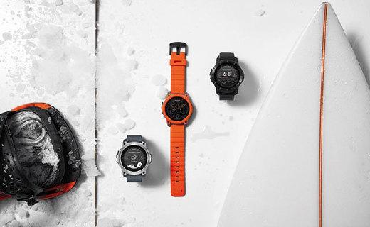 100米防水专业智能手表,为冲浪而生
