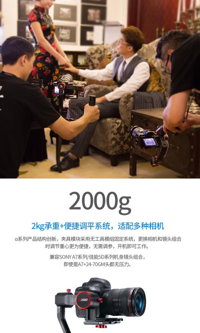 飞宇a2000单反稳定器
