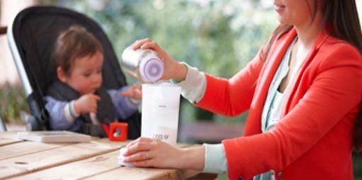 飞利浦新?#27979;鵖CF256/00暖奶杯:2.5分钟热奶,安全材质使用放心