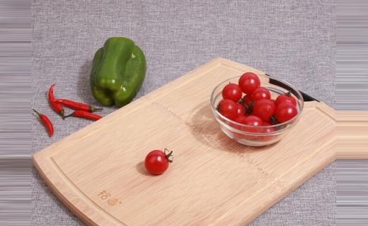 拾画砧板套装:整竹制作经久耐用,与食物接触面零胶水