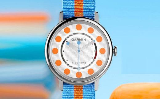佳明运动手表:50m防水超长一年待机,有效检测身体数据