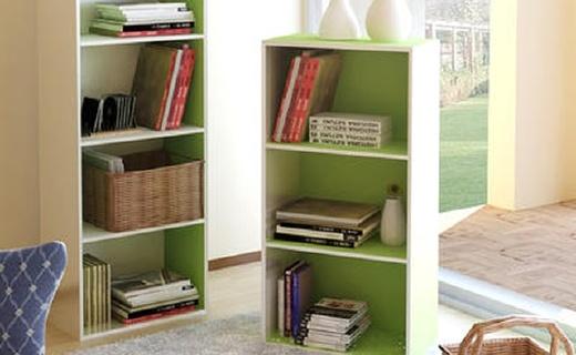 慧乐家四层收纳柜:边缘整齐美观,稳固耐用省空间