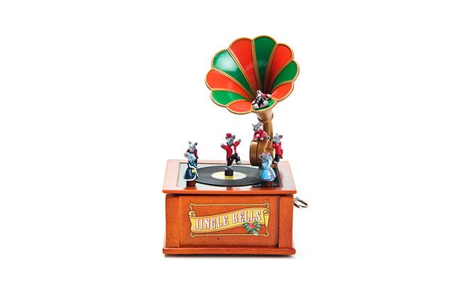 Mr.Christmas复古留声机音乐盒