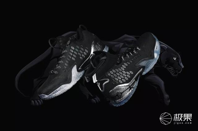 跟电影《黑豹》有一腿的安踏球鞋,炫酷神秘,汤普森上脚征战NBA