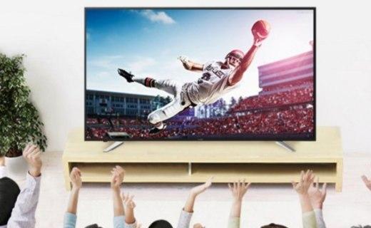 夏普4K液晶电视 :广色域技术,支持HDR,新低好价