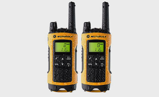 摩托罗拉T80EX对讲机:超强防水,加密信道,音质清晰