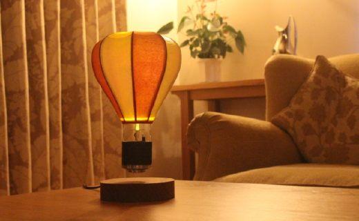 世界上第一款悬浮灯,可自定义旋转速度
