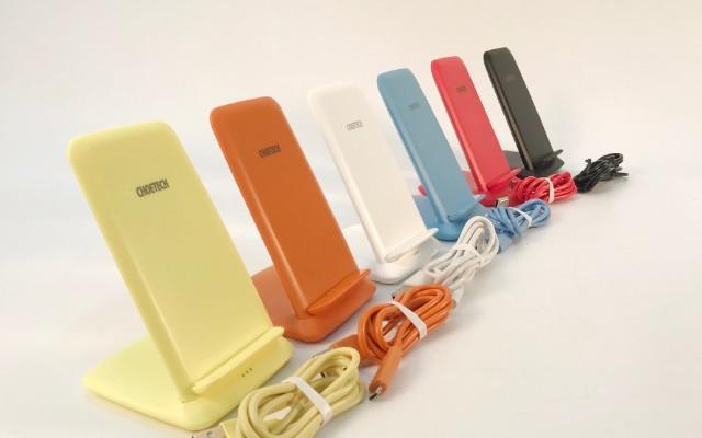 CHOETECH迪奥科,桌面立式手机支架无线充电器,开箱体验测评