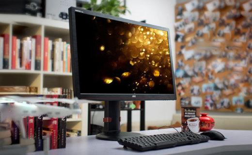 AOC G2770显示器:高玩必备的144Hz刷新率,27吋的爽快大屏体验