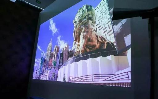 坚果U1 4K激光电视:外观科幻精致,平民售价9999!