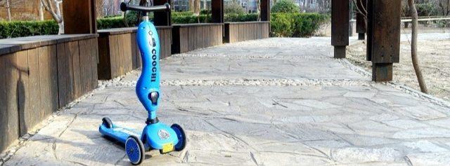小孩子出行利器,能骑能坐还是一辆学步车 — COOGHI酷骑儿童滑板车体验   视频