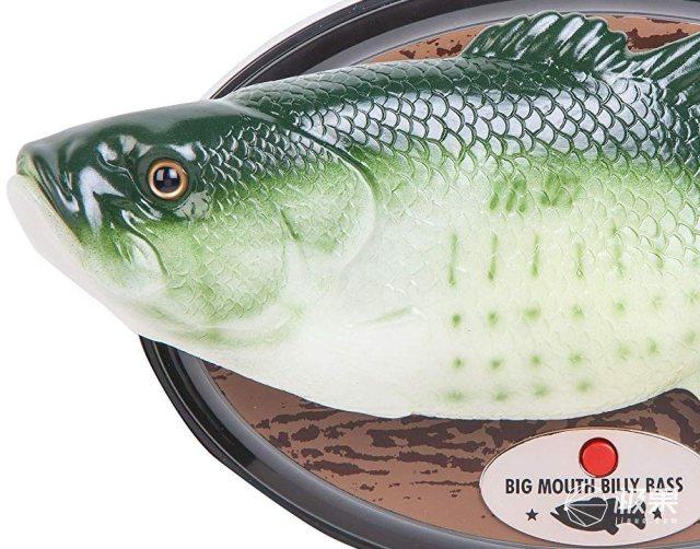BigMouthBillyBass:一条内置Alexa语音的鱼!Amazon开始预定