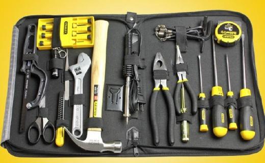 史丹利家用工具套装:装备齐全质量好,家居必备百宝箱