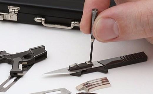 十八项全能的迷你刀具,居家旅行必备!