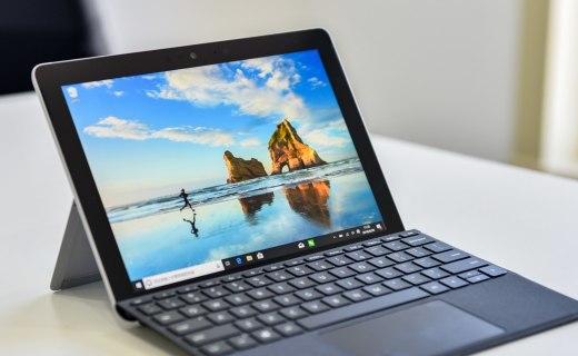微软Surface Go上手图赏:更轻薄便携,又中毒了!