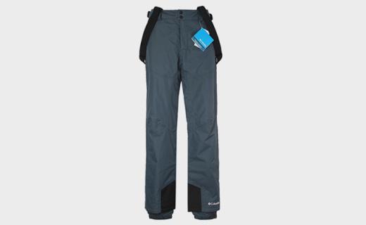 哥伦比亚滑雪裤:双层设计舒适透气,PU材质隔离紫外线