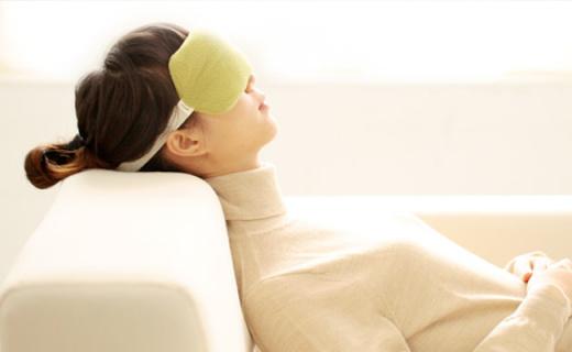 基本生活熏衣草眼罩:柔软亲肤缓解视觉疲劳,冷敷热敷两用