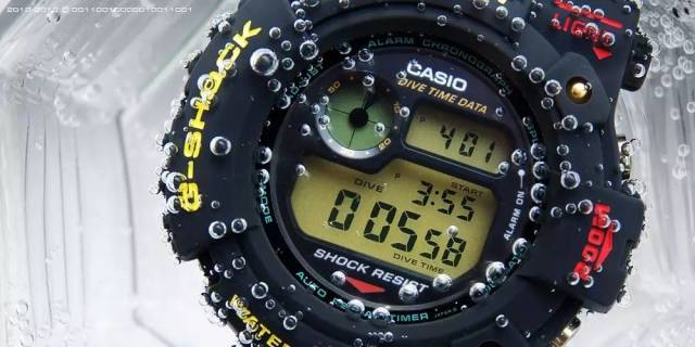 Casio卡西欧男士DW5600E-1V