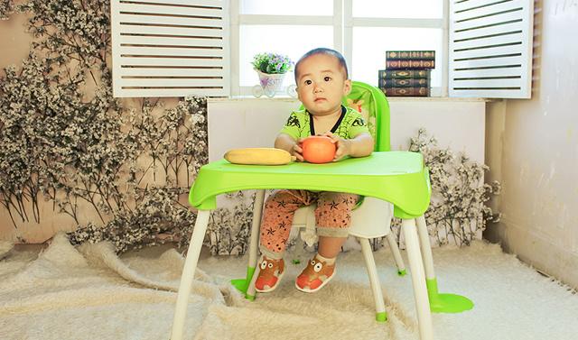 小崽崽的快乐成长之路 - 美泰费雪四合一餐椅体验