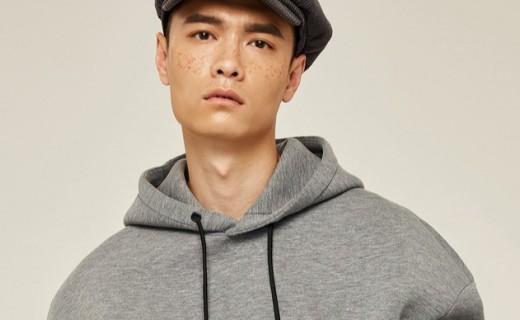 GXG套头连帽卫衣:太空棉轻便柔软,假两件设计层次感十足