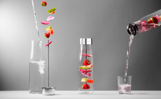 """丹麦人设计的新型""""柠檬杯"""",让你从此爱上喝水"""