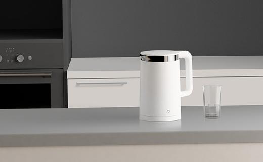 小米智能電水壺,12小時保溫智能控溫