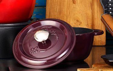 Fontignac砂锅:珐琅内壁吸收油脂,天然铸铁受热均匀