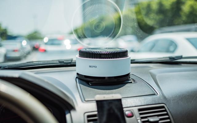 车载空气净化器 VS 驱蚊片,吸的一干二净