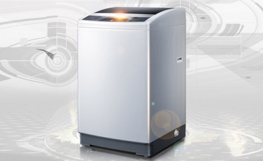 三洋全自动波轮洗衣机:NF智能全模糊洗涤,强力冲洗更省心