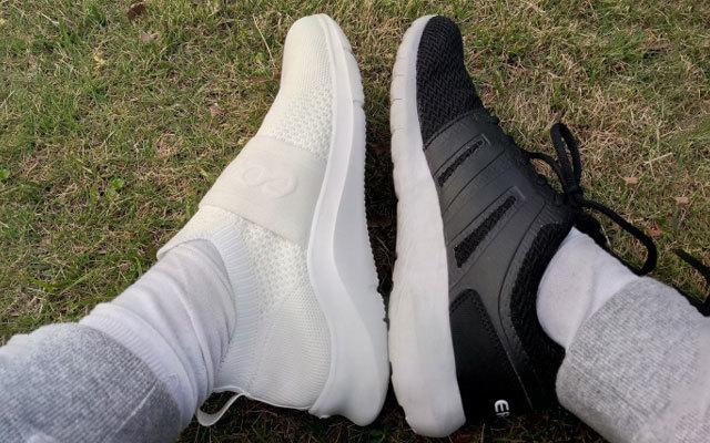 透气舒适,可以监测运动的智能跑鞋 — 咕咚智能健步鞋体验