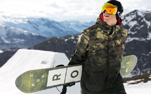 欧克利Flight Deck Army滑雪镜:生物科技镜面,还画细节防雾防UV