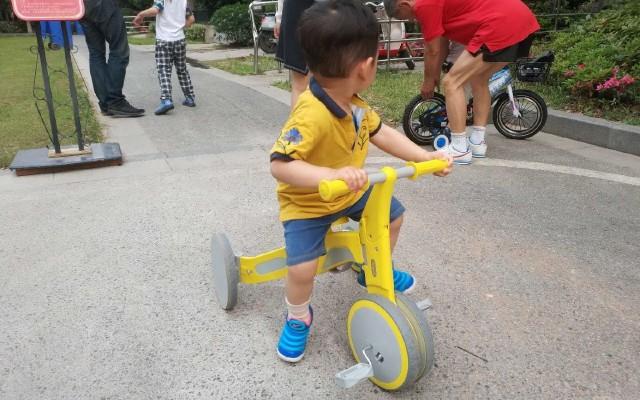 一车两种玩法,孩子童年的好玩伴