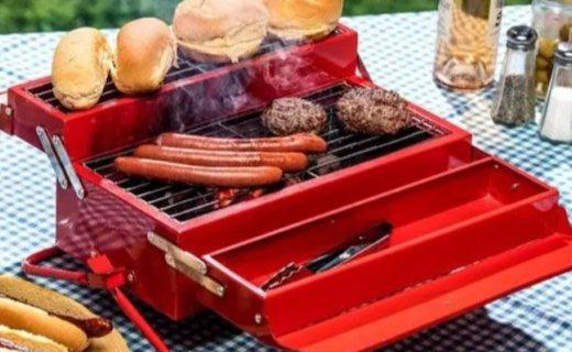 Suck UK手提式烤炉:行走在路上的美食机器