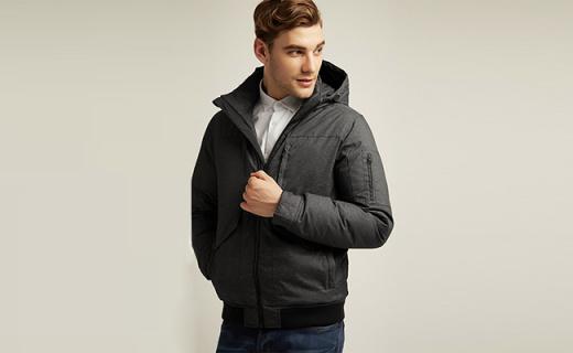 Esprit连帽羽绒服:蓬松保暖超舒适,简约纯色更易搭
