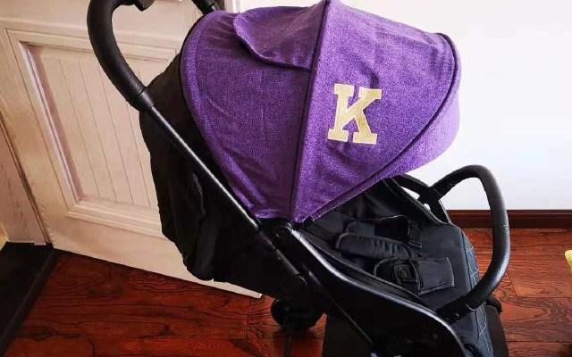 Kiwy新款婴儿车体验:可坐可躺,0-3岁都可以用