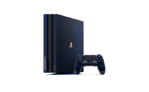 PS4 Pro 5亿台限定纪念版来了!半透明设计,3799元限量5万台!